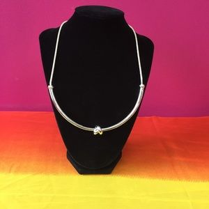 Jewelry - Silver-tone Knot Necklace